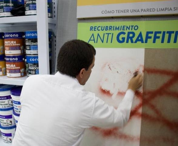 Pintura antigraffiti. Cient. Carlos Morzilli.