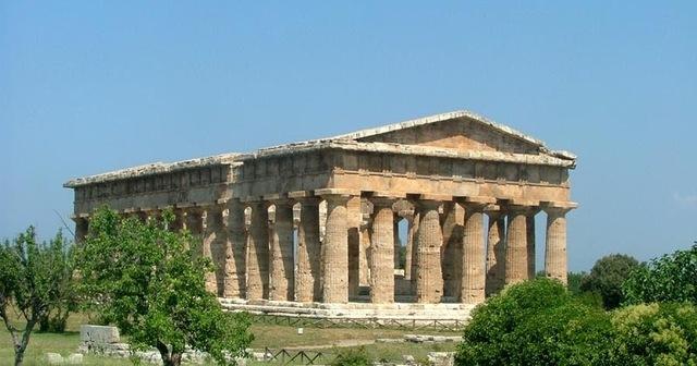 Grecia. Templo de Hera.