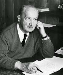 Martin Heidegger. (1889 - 1976)