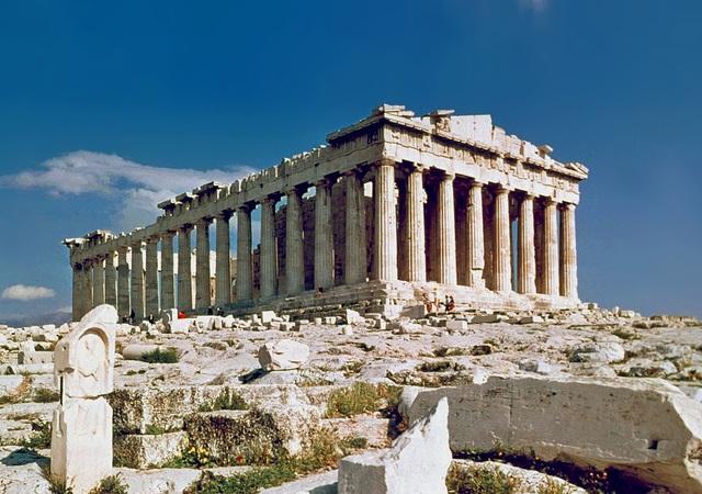 Grecia. El Partenón.