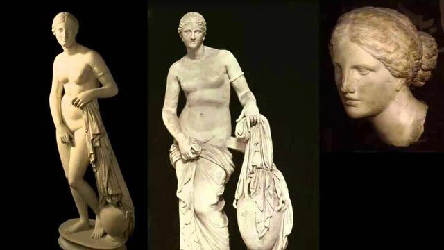 Grecia.  Venus del Cnido.
