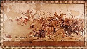 Grecia. Mosaico de Alejandro.