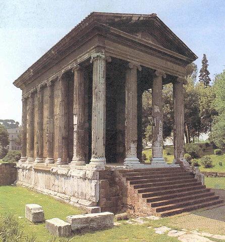 Roma. Templo de Portuno.