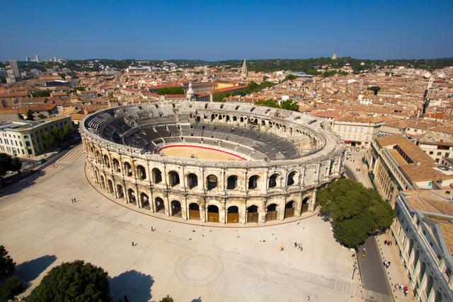 Roma. Anfiteatro Nimes
