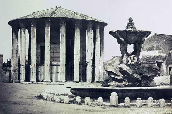 Roma. Templo de Vesta