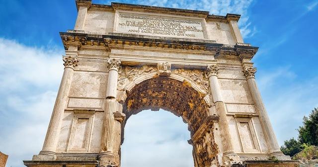 Roma. Arco del Triunfo de Tito