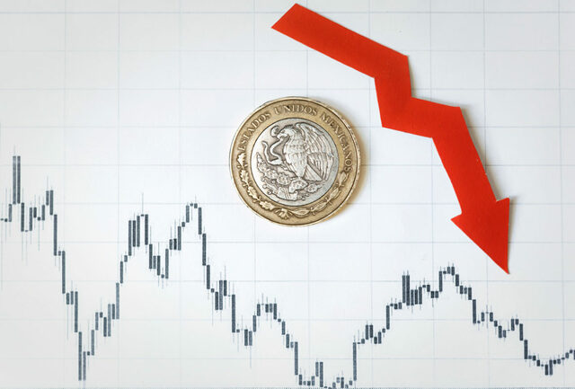 Caída del crecimiento económico