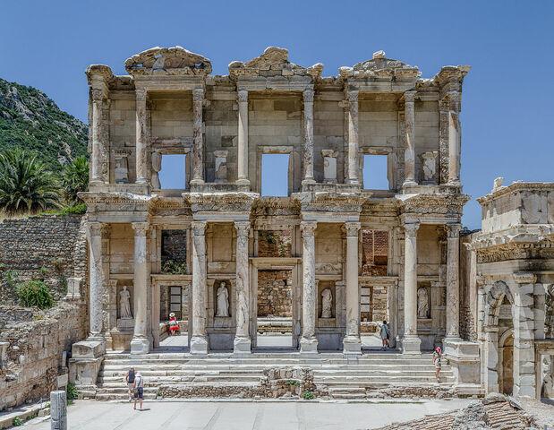 Roma. Biblioteca de Celso