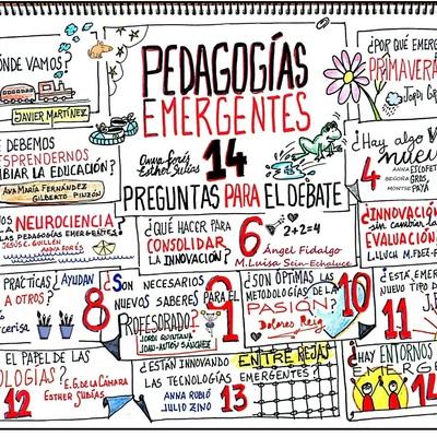 PEGAGOGÍAS EMERGENTES timeline