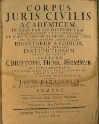 Código de Justiniano (Roma).