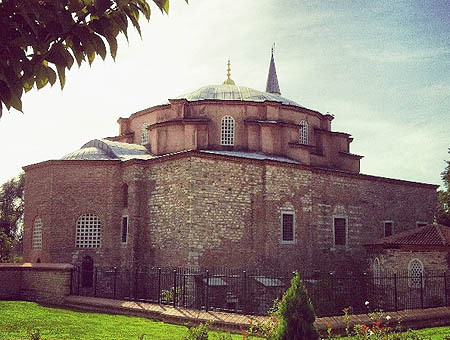 Bizantino. Iglesia de los Santos Sergio y Baco (Constantinopla)