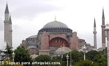 Bizantino. Santa Sofía de Constantinopla