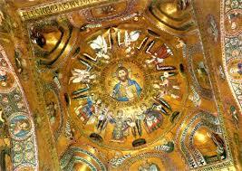 Arte Carolingio. Arquitectura. Mosaico Capilla Palatina