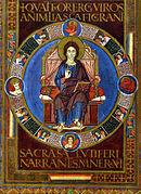 Arte Carolingio, Pintura. Codex Aureus de Lorsch