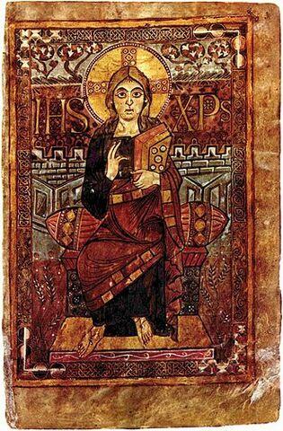 Arte Carolingio, Pintura.  Evangeliario de Godescalc