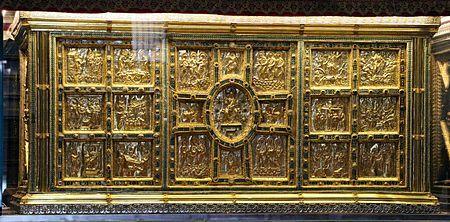 Arte Carolingio. Escultura. Altar de San Ambrosio.