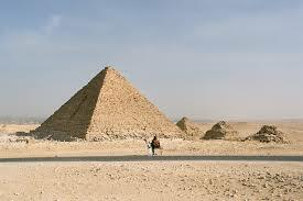 Arte Egipcio. Imperio Antiguo. La pirámide de Menkaura (Micerino) en Guiza