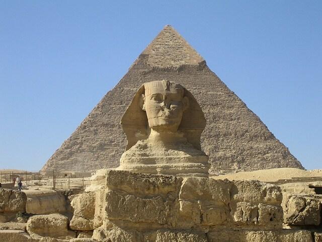 Arte Egipcio. Gran Esfinge de Giza.