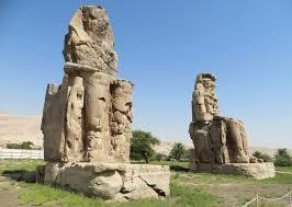 Arte Egipcio. Colosos de Memnón.