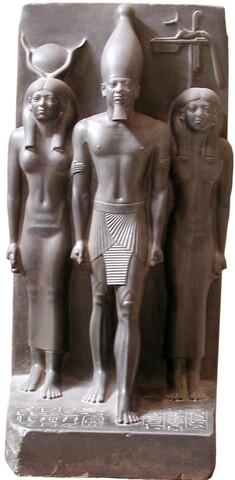 Arte Egipcio. Tríada de Micerino.
