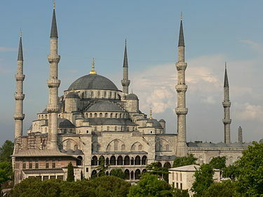 Arte otomano. Período clásico. Arquitectura. La Mezquita Azul.
