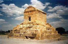 Arte persa. Tumba de Ciro.