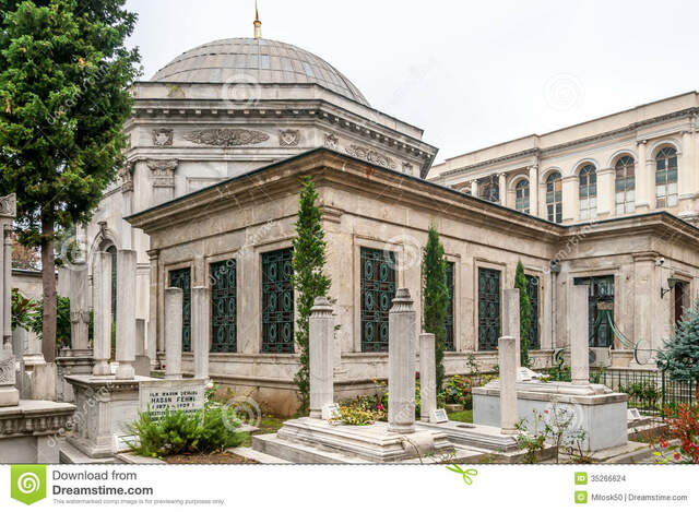 Arte otomano. Periodo del Imperio. Tumba Sultán Mahmut
