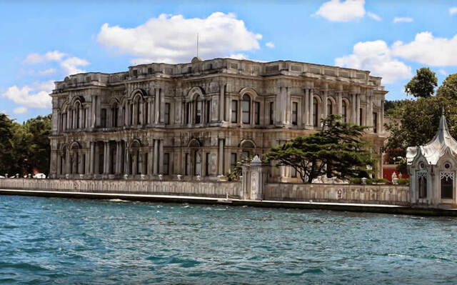 Arte otomano. Período del Imperio. Palacio Beylerbeyi