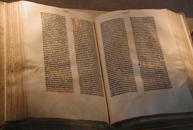 La Biblia de Gutenberg