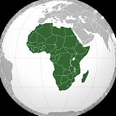 Evangelización en África.