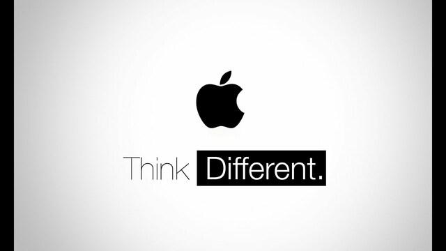 "Publicidad ""Think Different"""