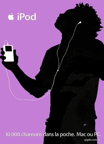 "Publicidad ""iPod Silhouettes"""
