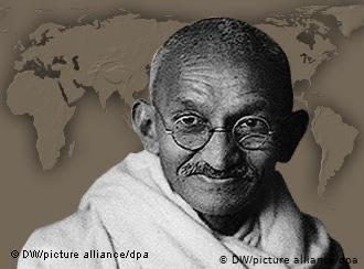 Gandhi as an adult
