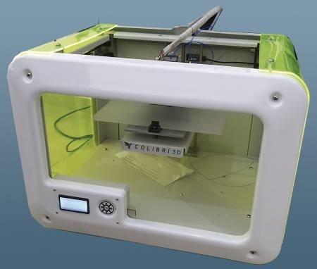 Impresora 3D Colibrí. Ing. Ricardo Madrigal, Juan Pablo González y Francisco Martin del Campo.
