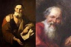 Leucippus and Democritus