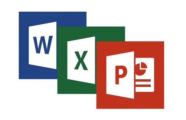 Novo pacote, Microsoft Office