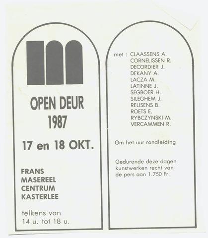 Open Deur 1987