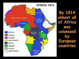 European countries colonize almost all of Africa