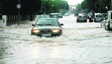 Vaig patiir una experiencia semblant a una inundació a la Xina