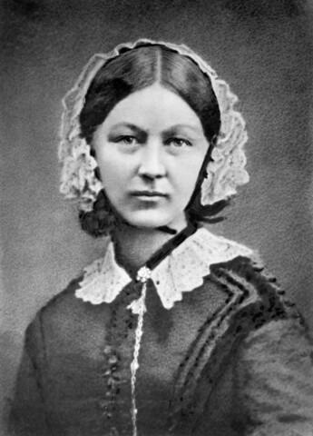 Enfermera inglesa Florence Nightingale