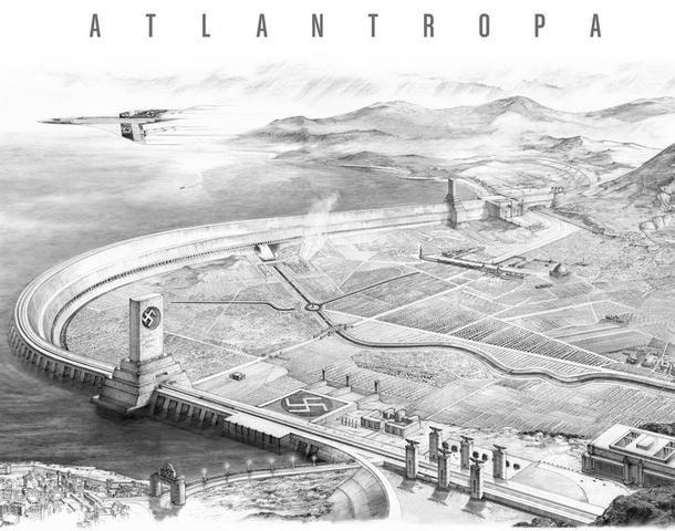 Inizio dei lavori di Atlantropa