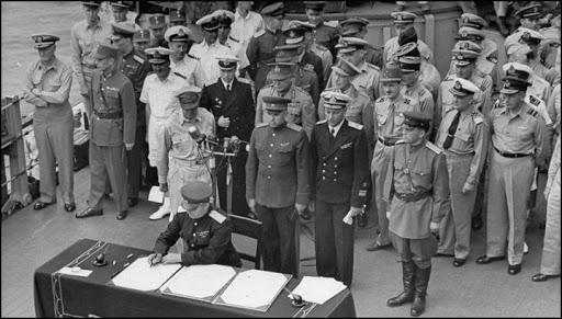 Accordi di Akagi e fine della Seconda Guerra Mondiale