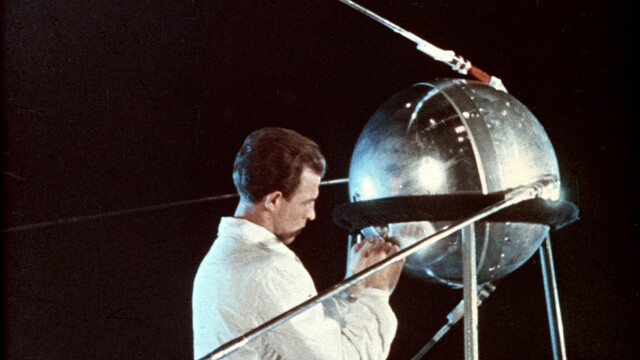 First Satellite in Space by The USSR