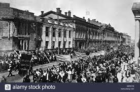 Manifestación en Petrogrado