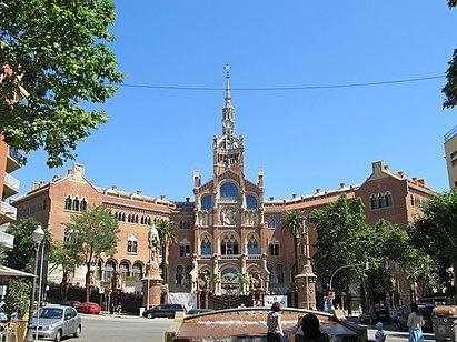 Hospital de Sant Pau (Lluís Domènech i Montaner)