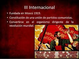 La tercera Internacional