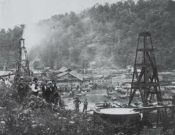 Perforación del primer pozo de petróleo en Titusville (EEUU)