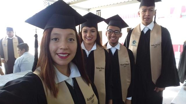 Mi tercera graduación.