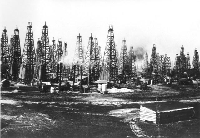 Explotaciones de yacimiento de petroleo.