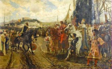 Isabel I.a eta Fermando II.a ezkondu ziren
